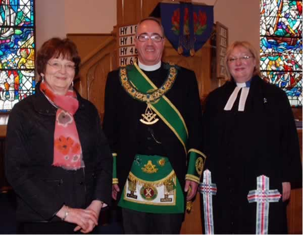 Counciller Riches PGM and Rev Rose