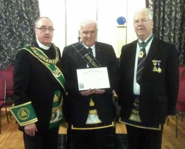 PGM Bro. Ovenstone and Bro. Stephens PM
