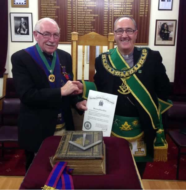 PM Gilchrist with the PGM
