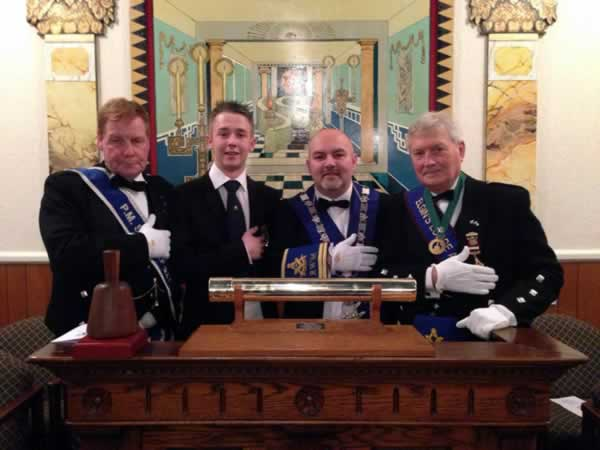 RWM with his Son and Installing Masters