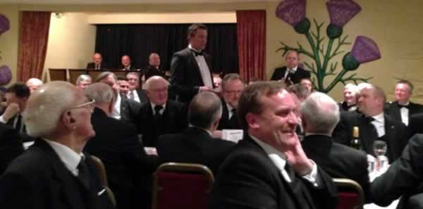 Bro Kevin Woodward WJW proposes a toast to PGL