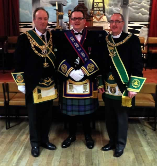 RWM with Grand Master and Provincial Grand Master