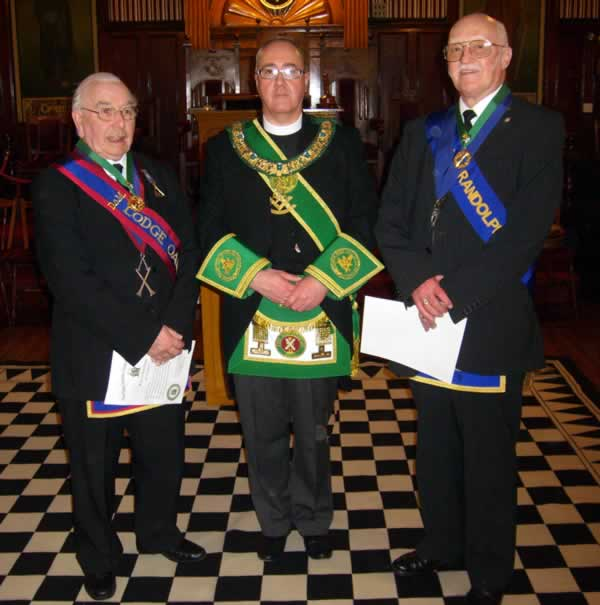 PGM with Honorary Provincial Grand Ranks