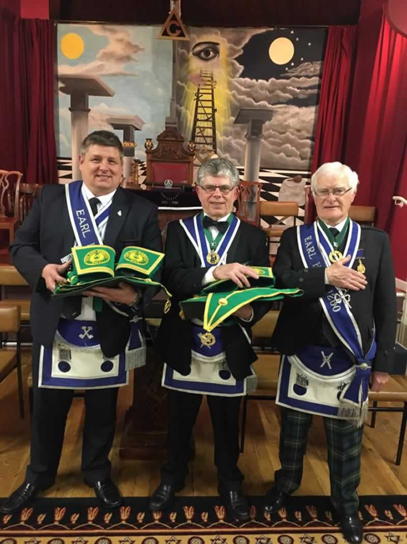 Past Provincial Grand Rank Regalia Presentation